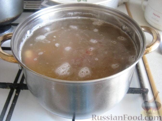 суп из зеленой чечевицы рецепт с копченостями