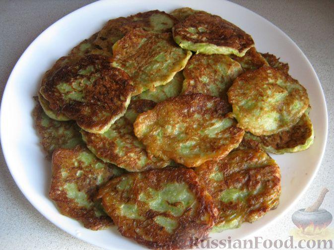 Рецепт Постные оладьи из кабачков