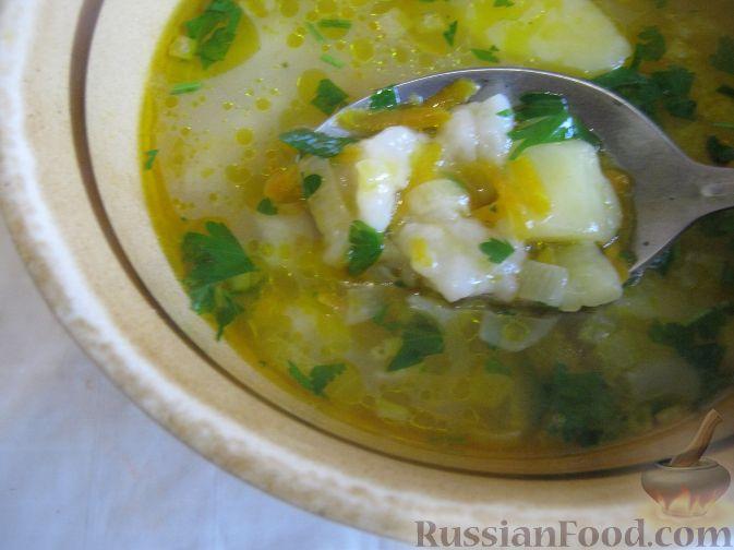 Рецепт Суп из свинины с галушками
