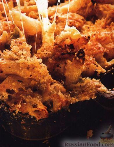 Рецепт Паста, запеченная с цветной капустой и сыром