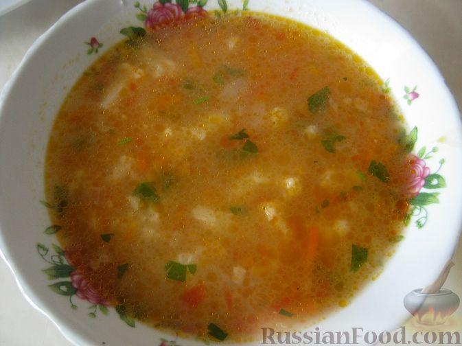 Рецепт Легкий супчик с цветной капустой