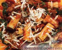 Фото к рецепту: Паста (макароны) с мясным соусом