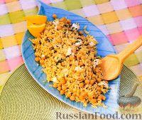 Фото к рецепту: Паста орцо с нутом и козьим сыром