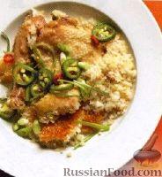 Фото к рецепту: Курица с рисом