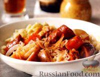 Фото к рецепту: Рагу из овощей и копченой колбасы (в медленноварке)