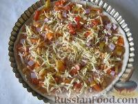 Фото приготовления рецепта: Пицца на скорую руку - шаг №11