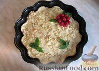 Фото к рецепту: Рассыпчатый пирог с творогом