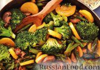 Фото к рецепту: Овощное «стир-фрай» с грибами