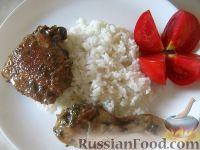 Фото к рецепту: Курица в медово-соевом маринаде