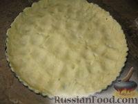 Фото приготовления рецепта: Пирог  с брокколи и курицей - шаг №7