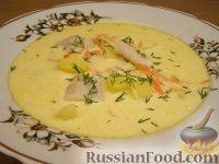 Фото к рецепту: Рыбный суп со сливками