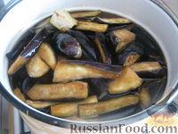Фото приготовления рецепта: Баклажаны на зиму - шаг №4