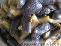 Фото приготовления рецепта: Баклажаны на зиму - шаг №5