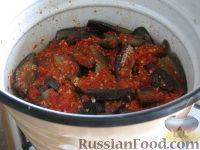 Фото приготовления рецепта: Баклажаны на зиму - шаг №11
