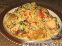 Фото к рецепту: Пилав из курицы с овощами