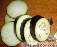 """Фото приготовления рецепта: Салат из баклажанов на зиму """"Тещин язык"""" - шаг №2"""