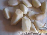 """Фото приготовления рецепта: Салат из баклажанов на зиму """"Тещин язык"""" - шаг №5"""