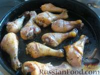 """Фото приготовления рецепта: Куриные ножки """"Золотистые"""" - шаг №3"""
