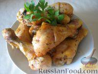"""Фото приготовления рецепта: Куриные ножки """"Золотистые"""" - шаг №4"""