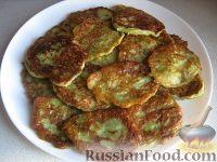 Фото к рецепту: Постные оладьи из кабачков
