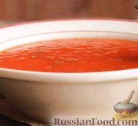 Фото к рецепту: Томатный суп-пюре