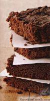 Фото к рецепту: Шоколадные брауни с вишней