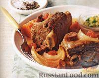 Фото к рецепту: Ребрышки с овощами в медленноварке