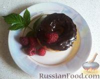 Фото к рецепту: Донатсы в шоколадной глазури