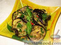 Фото к рецепту: Маринованные жареные баклажаны