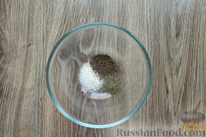 Фото приготовления рецепта: Шампиньоны в панировке, жаренные во фритюре - шаг №3
