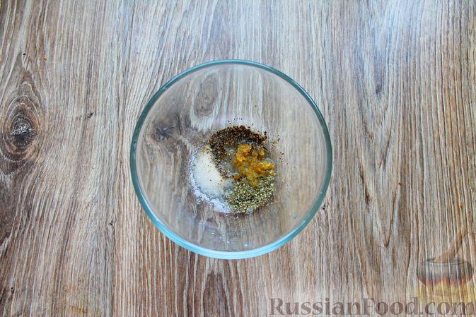 Фото приготовления рецепта: Шампиньоны в панировке, жаренные во фритюре - шаг №4