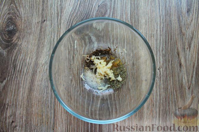 Фото приготовления рецепта: Шампиньоны в панировке, жаренные во фритюре - шаг №5
