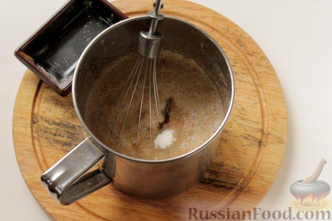 Фото приготовления рецепта: Блинчики из ржаного хлеба - шаг №5