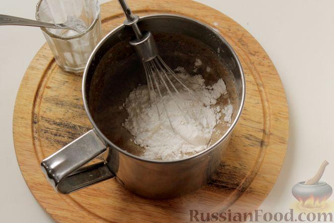 Фото приготовления рецепта: Блинчики из ржаного хлеба - шаг №6