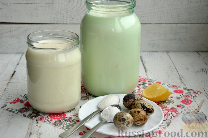 Фото приготовления рецепта: Творожный сыр из молока и кефира - шаг №1