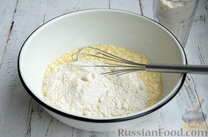 Фото приготовления рецепта: Сдобные булочки с яблоками и штрейзелем - шаг №3