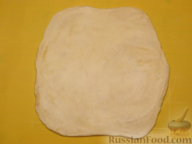 Фото приготовления рецепта: Пирожки с яблоками, из песочного теста на сметане - шаг №9
