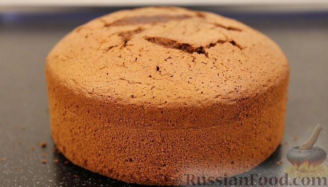 Фото приготовления рецепта: Шоколадный бисквит на какао - шаг №17