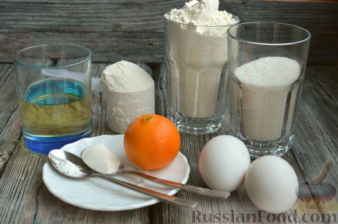 Фото приготовления рецепта: Кексы с мандаринами - шаг №1