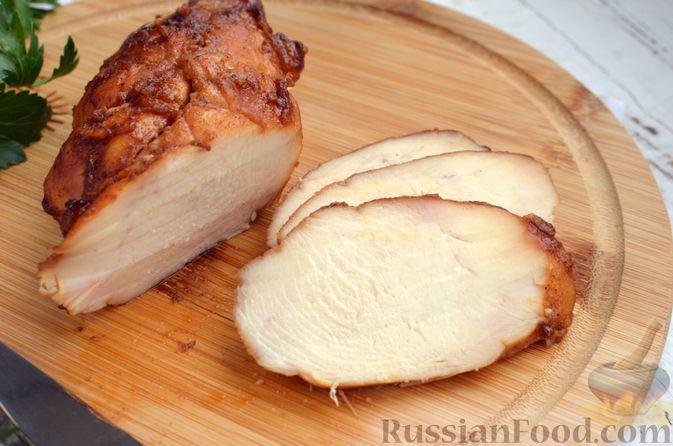 Фото приготовления рецепта: Пастрома из куриного филе в медово-пряной глазури - шаг №11