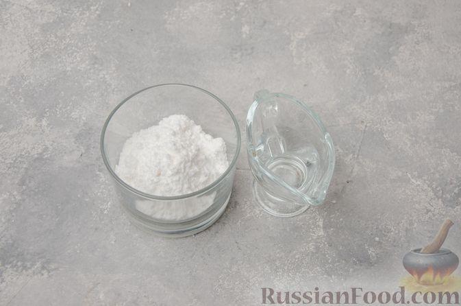 Фото приготовления рецепта: Творожное печенье с мёдом, цедрой и сахарной глазурью - шаг №9