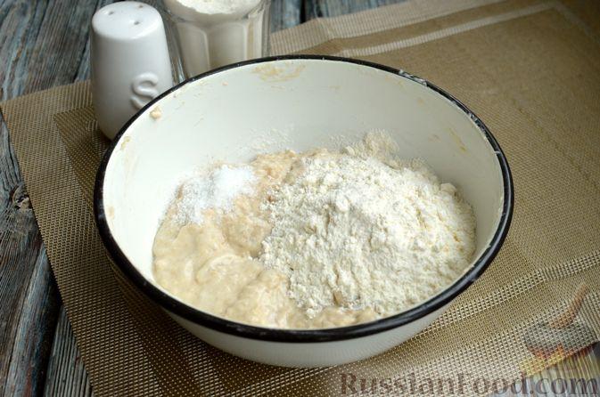 Фото приготовления рецепта: Пшеничный хлеб на заварке из цельнозерновой муки - шаг №6