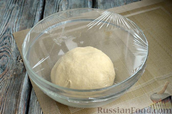 Фото приготовления рецепта: Пшеничный хлеб на заварке из цельнозерновой муки - шаг №8