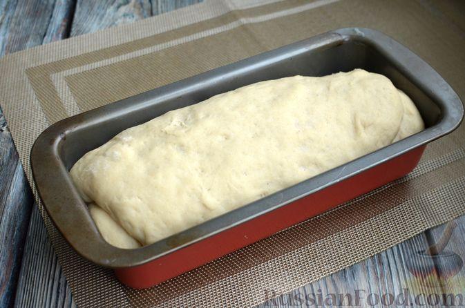 Фото приготовления рецепта: Пшеничный хлеб на заварке из цельнозерновой муки - шаг №12