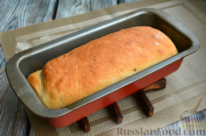 Фото приготовления рецепта: Пшеничный хлеб на заварке из цельнозерновой муки - шаг №13