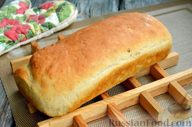 Фото приготовления рецепта: Пшеничный хлеб на заварке из цельнозерновой муки - шаг №14