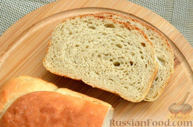 Фото приготовления рецепта: Пшеничный хлеб на заварке из цельнозерновой муки - шаг №15