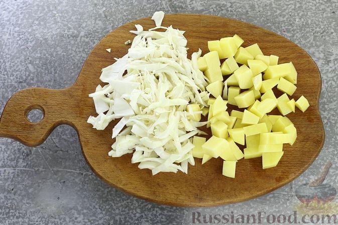 Фото приготовления рецепта: Борщ сибирский - шаг №2