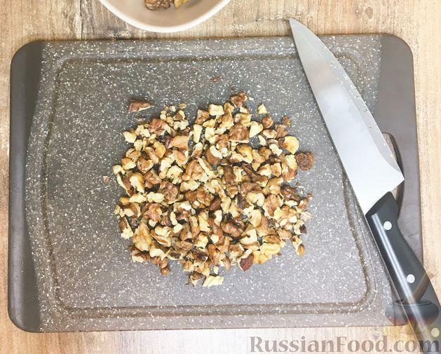 """Фото приготовления рецепта: Печенье """"Мазурка"""" с изюмом и орехами - шаг №2"""