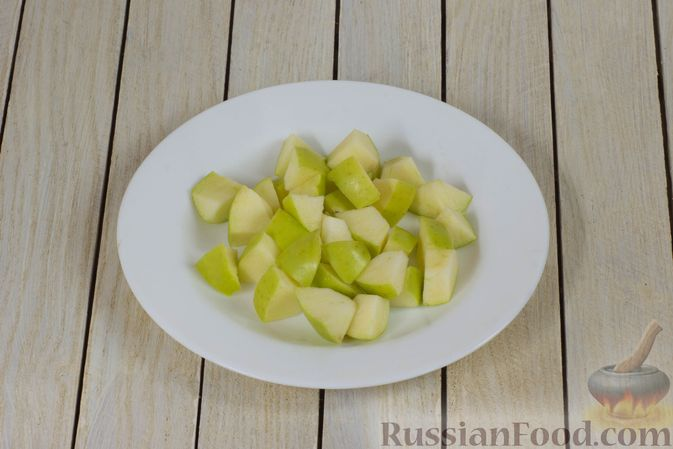 Фото приготовления рецепта: Смузи из яблока, грейпфрута и граната - шаг №4